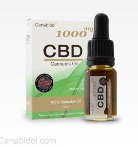 Canabidol™ Cannabis Oil Drops (RAW) 100mg