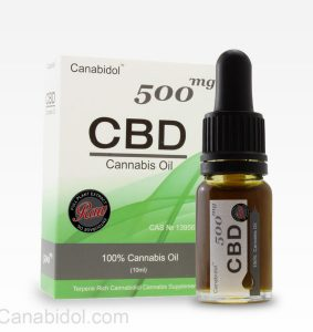 Canabidol™ Cannabis Oil Drops (RAW) 500mg